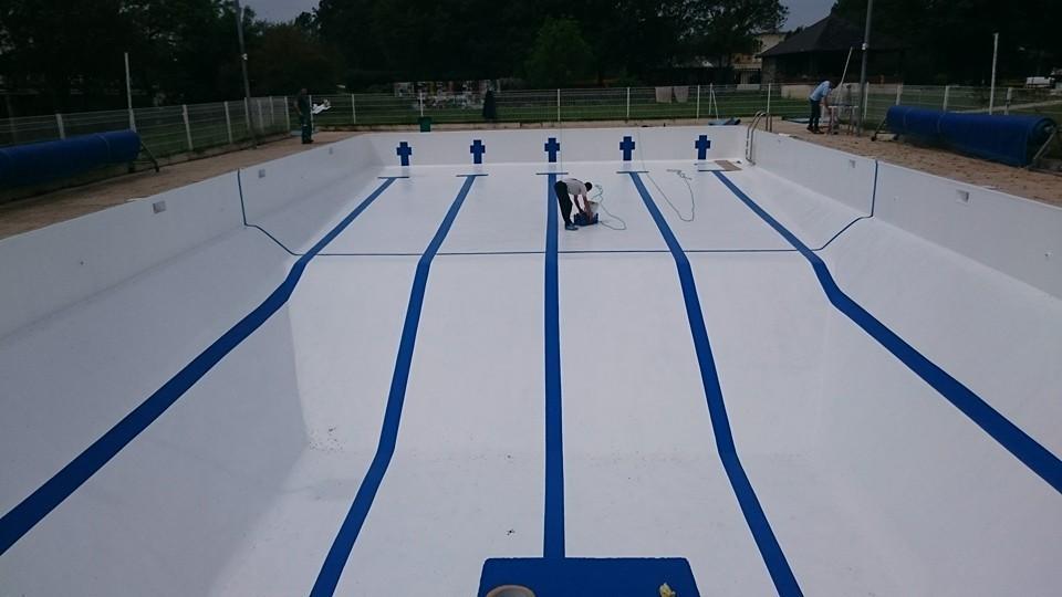 Travaux piscine r a c natation for Travaux piscine