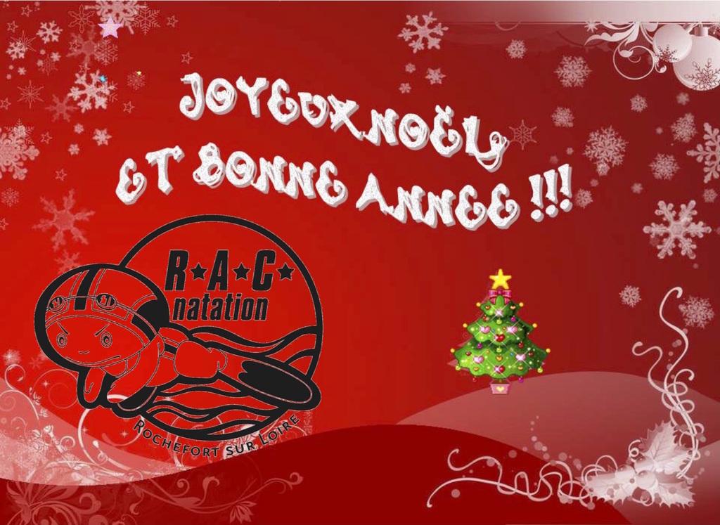 Photos De Joyeux Noel Et Bonne Annee.Joyeux Noel Bonne Annee R A C Natation