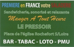 BAR TABAC LOTO PMU LE PRESSOIR